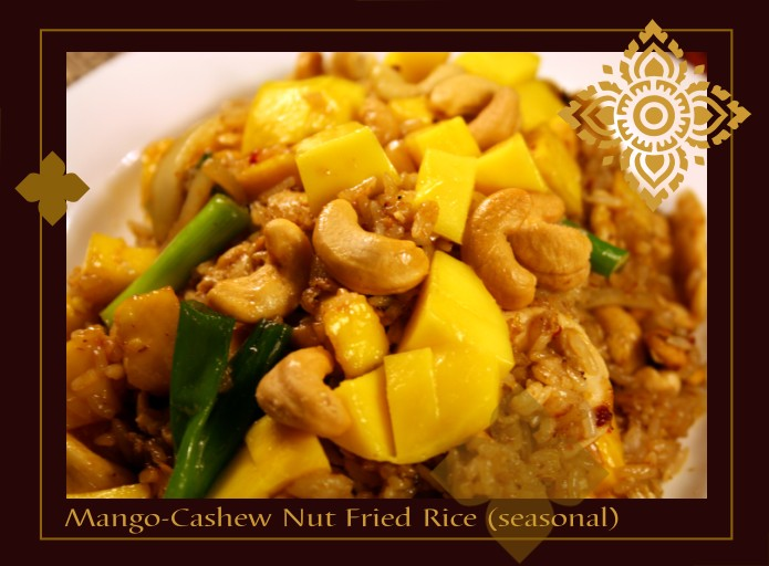 Mango-Cashew Nut Fried Rice (seasonal) 13.95